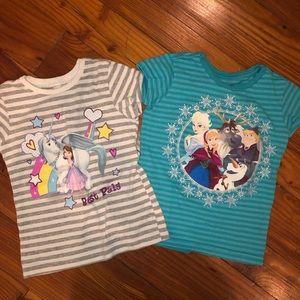 Disney short sleeve tops!